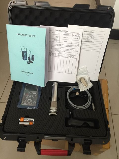 New  ultrasonic hardness tester
