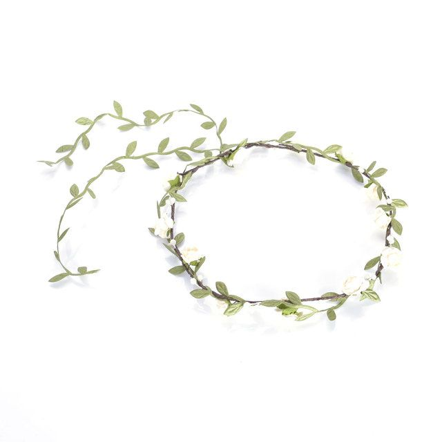 New Hot arrival Bohemian Style Wreath Flower Crown Wedding Garland Forehead Hair Head Band Accessories