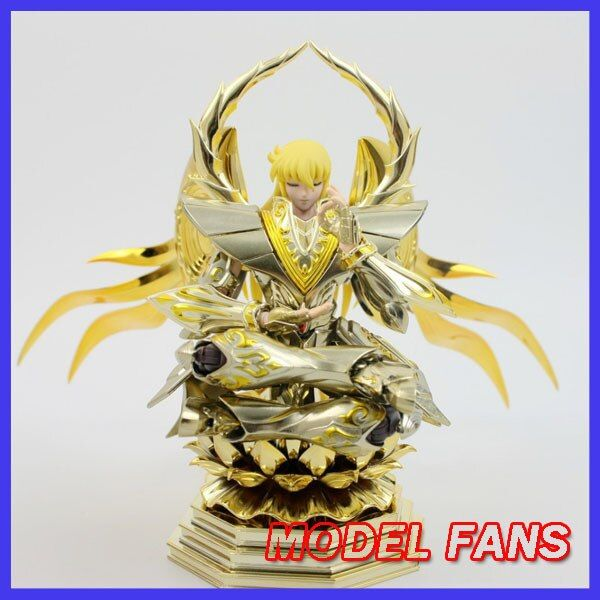 MODEL FANS instock soul of gold sog virgo shaka METAL CLUB metalclub saire MC Saint Seiya metal armor Myth Cloth  Action Figure