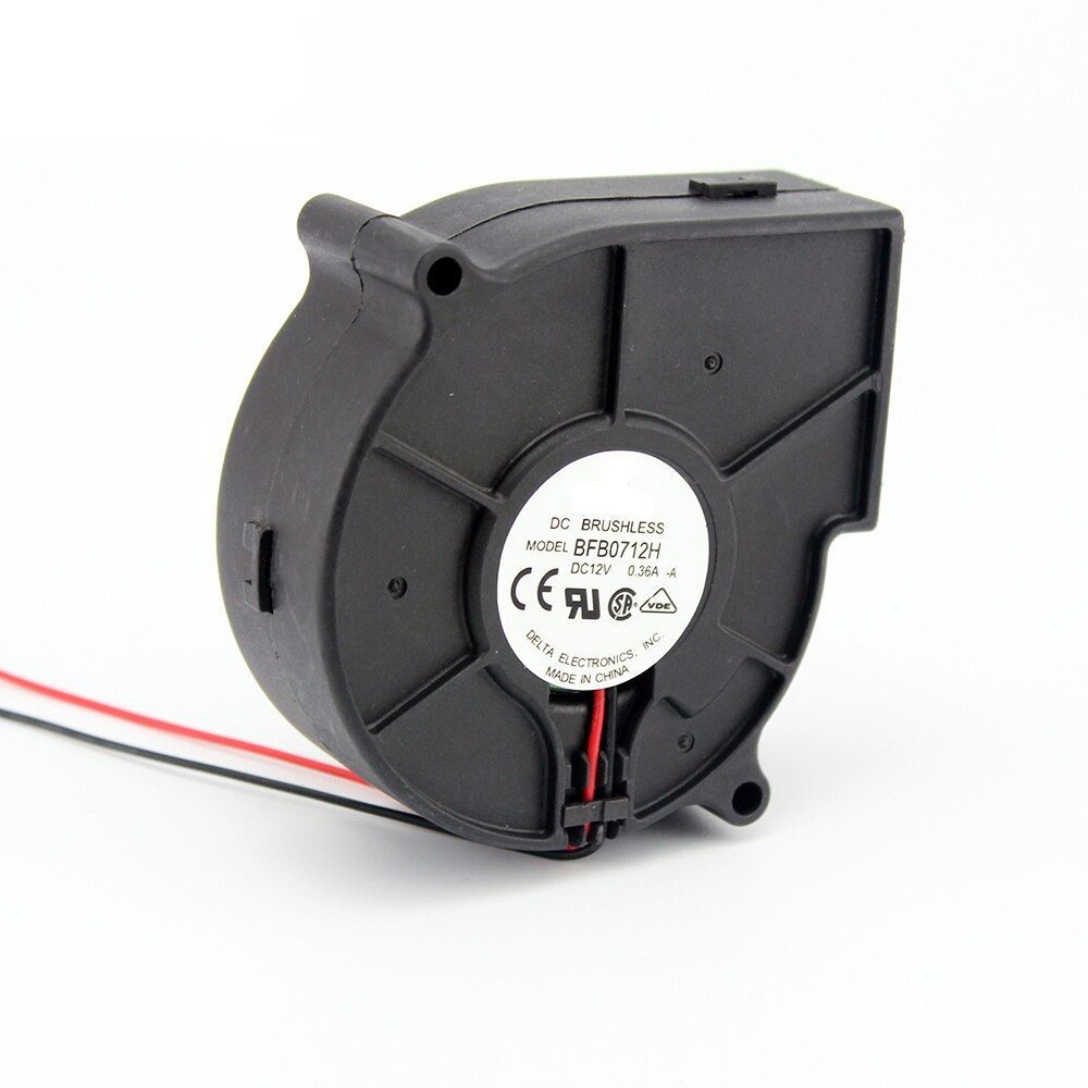 Original For BFB0712H 7530 DC 12V 0.36A projector blower centrifugal fan cooling fan 7CM fan
