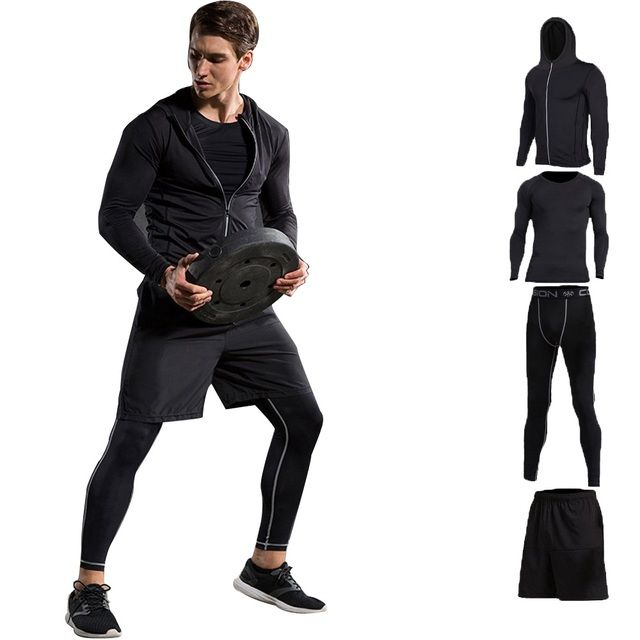 2017 Hot Sale New Brand Tracksuits Survetement Football Sports Suit Clothing Men Jacket Pant 4pcs Sets Sportswear Sweatshirt