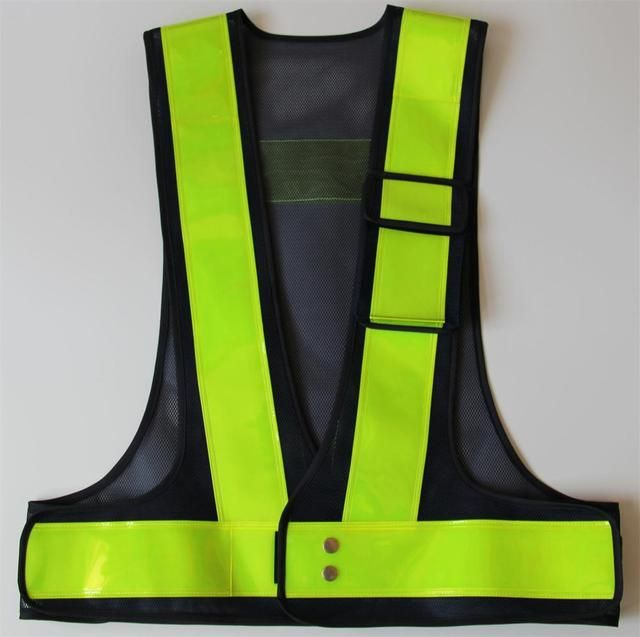 Yemingduo high light traffic reflective vest warning safety clothing customized  printed word