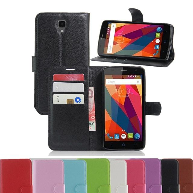 For ZTE Blade L5 plus Fashion Wallet PU Leather Cases For ZTE Blade L5/L5 plus Magnetic Filp Cover Fundas Holder Stand Phone Bag