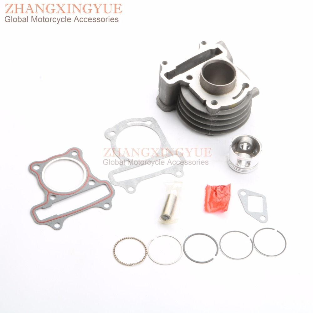 39mm Cylinder Kit for Scooter Kymco Agility Dink Like 50cc GY6 139QMB 4T