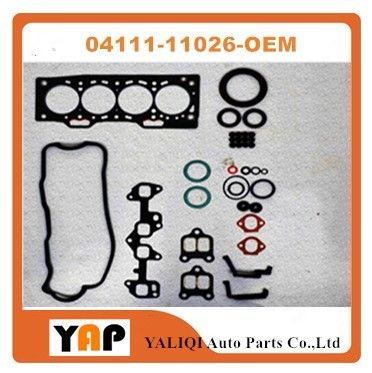 Overhaul Gasket Kit Engine FOR FITToyota EE80 EE90 EE10# EE11# 2E 1.3L V8 L4 04111-11026 1987-1997