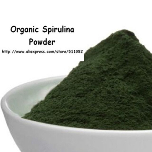 Organic Spirulina Powder Superfood Supplement 500g free shipping