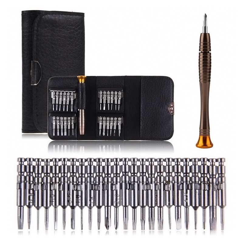 25 in 1 Universal Torx Screwdriver Repair Tool Set Repairing Opening Tools Kit For iPhone Cellphone Tablet   ALI88