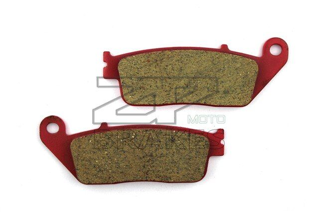 Motorcycle Parts Brake Pads Fit HONDA CBR 1000 FK/FL/FM/FN 1989-1992 Front OEM New Red Carbon Ceramic Free shipping