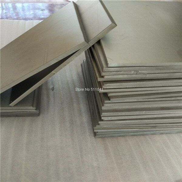 6mm thickness Ti  GR5 Grade5 Titanium alloy metal plate sheet wholesale price ,free shipping