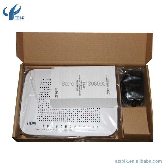 Original ZTE F460 EPON ONT V5.0 Version For FTTH and FTTB With IPv6,4 Eternet port 2 voice port wireless EPON terminal