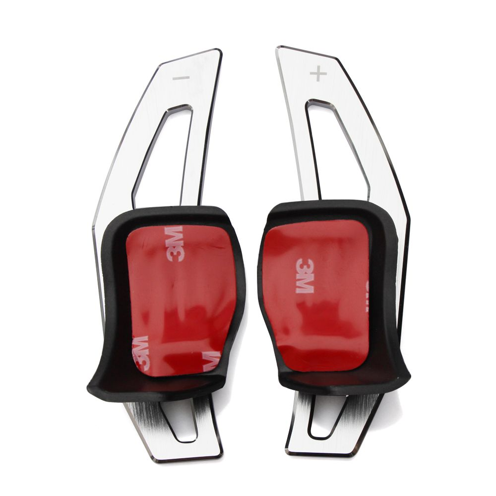 For Volkswagen Tiguan Golf 6 MK6 Jetta GTI R20 R36 CC Scirocco EOS steering wheel shift paddle DSG Paddle Extension car styling