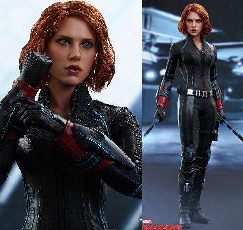 "1/6 scale Figure doll .12"" action figures doll Avengers: Age of Ultron Black Widow Scarlett Johansson.Collectible model toy gift"