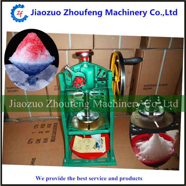 Ice crusher snow ice shaving machine manual operation