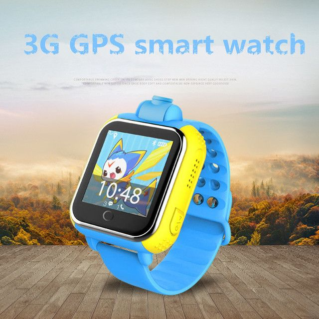 smart watch GPS GSM Kid SOS anti-lost 3G Smart Watch for Android iphone With Camera Big HD Screen Smartwatch For Children Safety