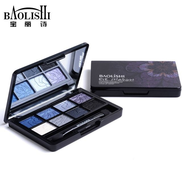 baolishi 1pcs hot sell 8 color naked best matte eyeshadow palette urban professional natural brand makeup cosmetics
