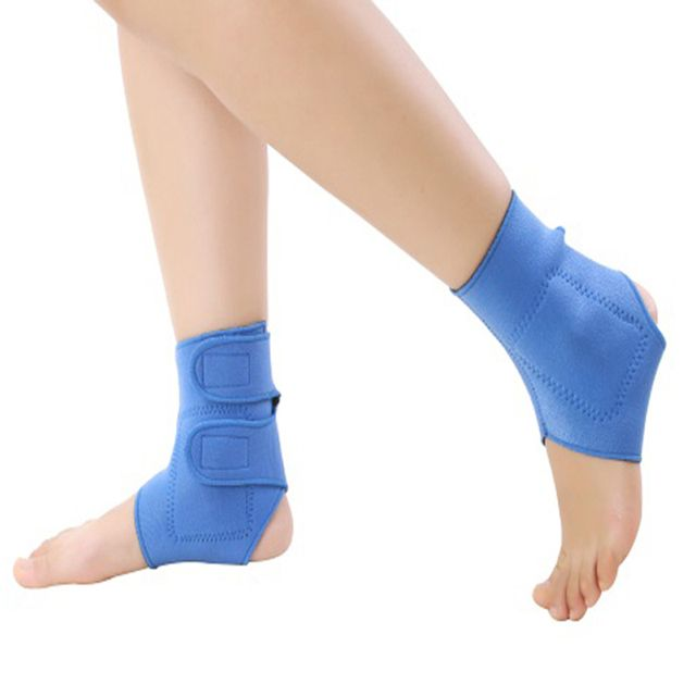 Tourmaline Ankle Support Belt Self-heating 1 Pair Ankle Proteciong Anti-fatigue Medical Magnetic Health Care Ankle Support