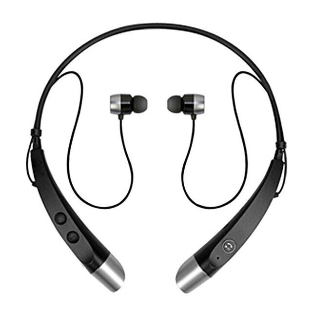 HBS-500 Bluetooth Earphone Headphones with Microphone Bluetooth Wireless Headset for iPhone Xiaomi Samsung Bluetooth Smart Phone