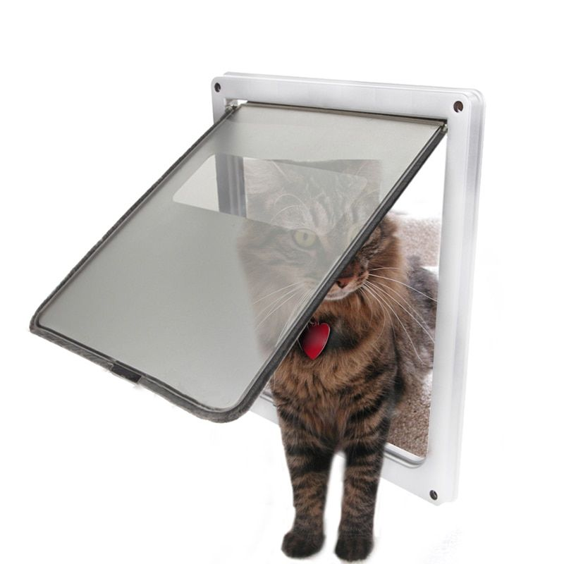 NEW Arrival Extra Large size Lockable Pet Cat Dog Flap Door Dog Gate Frame Puppy Suitable for Any Wall or big dog Door