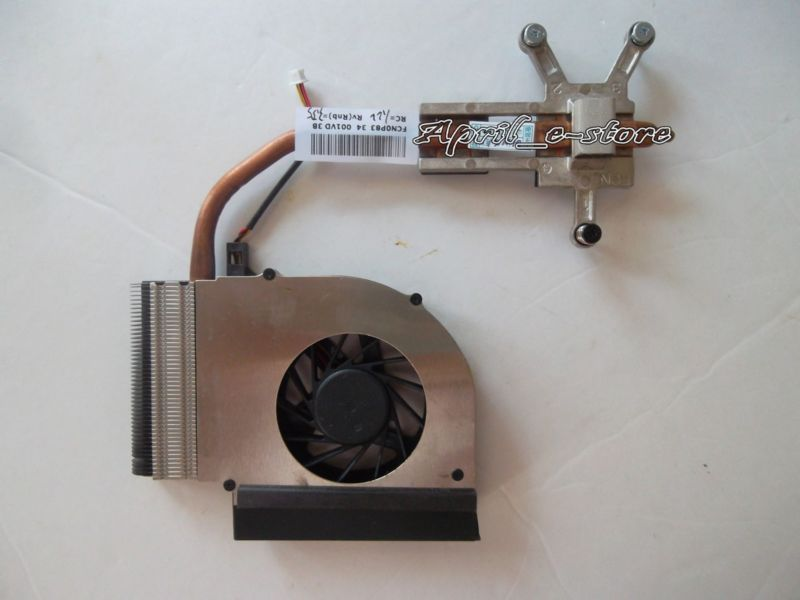 NEW Original for HP Pavilion G61 Compaq CQ61 cooling fan with heatsink 582139-001