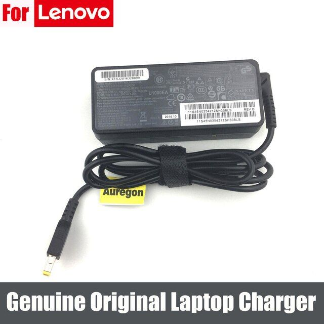 GENUINE 65W 20V 3.25A Laptop AC Adapter Charger Power Supply for Lenovo IdeaPad Z50-70 Model 20354 Yoga 500 0B47483