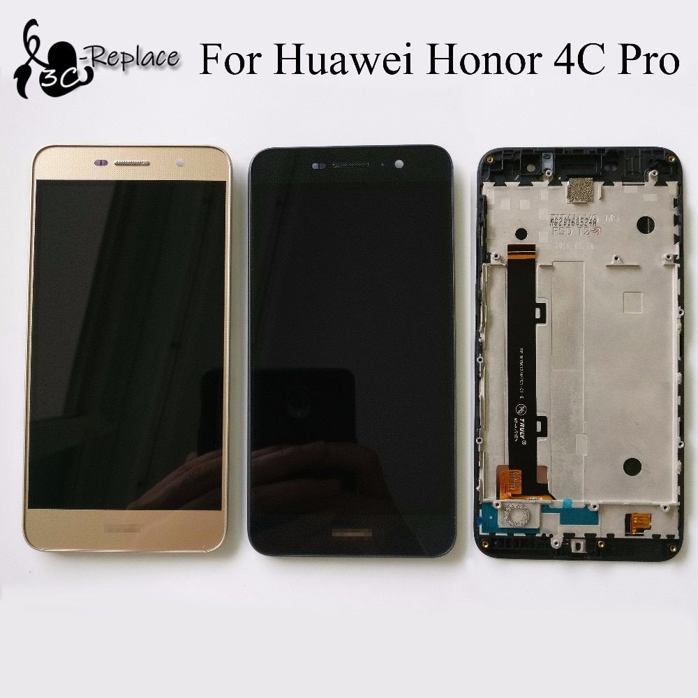 For huawei honor 4c pro TIT-L01 LCD Display + Touch Screen Digitizer Assembly With Frame Replacement (not fit for honor 4c)