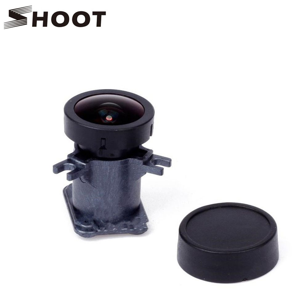 SHOOT 150 Degree Wide Angle Lens for Gopro Hero 4 3+ Black Silver Action Camera Replacement Lens Mount for Go Pro 3+ 4 Accessory