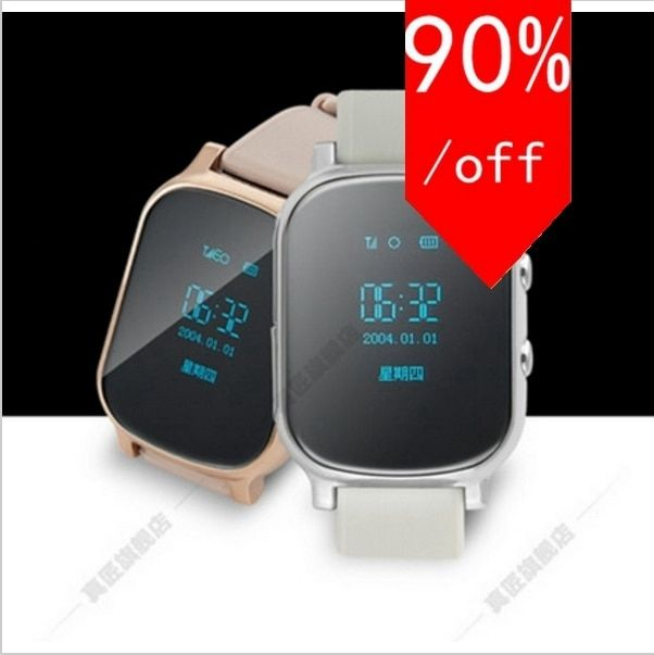 WIFI Positioning GPS Smart Watch Children SOS Call Location Finder Device Tracker Kid Safe Anti Lost Touch Screen Watch Teh
