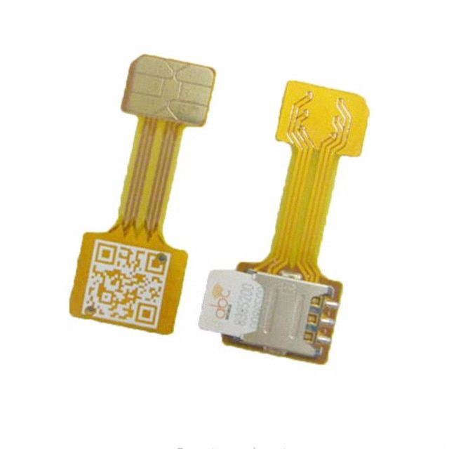 Hybrid Double Dual Sim-card Adapter Micro SD Nano Sim Extension Adapter Android Mobile Xiaomi Redmi Note 3 4 3 s Prime Pro