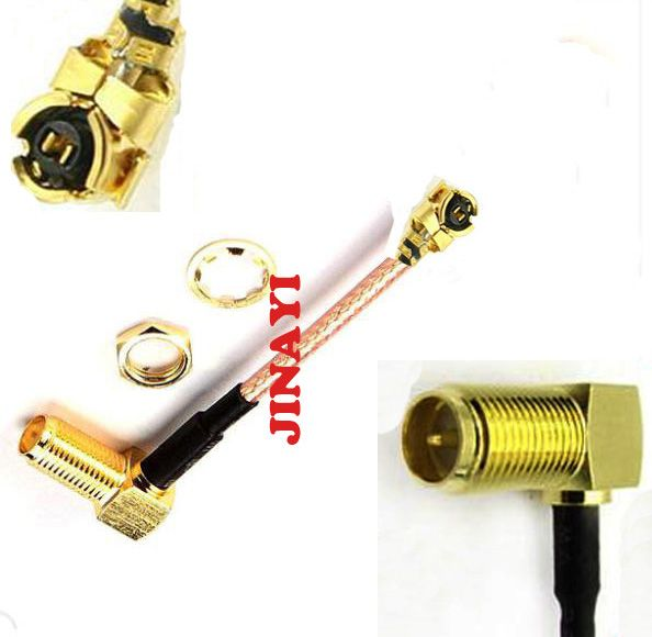 10pcs RG178 Extension Cable Right Angle RP SMA RP-SMA Female to IPX U.fl IPEX Connector 5cm 10cm 15cm