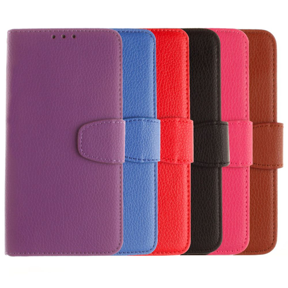 Cases for LG G3 Beat Case D722 D724 Luxury Leather Flip Wallet Card Holder Stand Phone Accessories Case Cover for LG G3 Beat