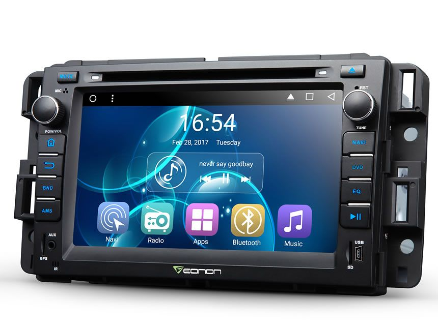 "Eonon 7"" Quad Core Android 6.0 Marshmallow Car DVD Radio for GMC Acadia 2009-2011 & GMC Sierra 2009-2011 & GMC Yukon 2008-2011"