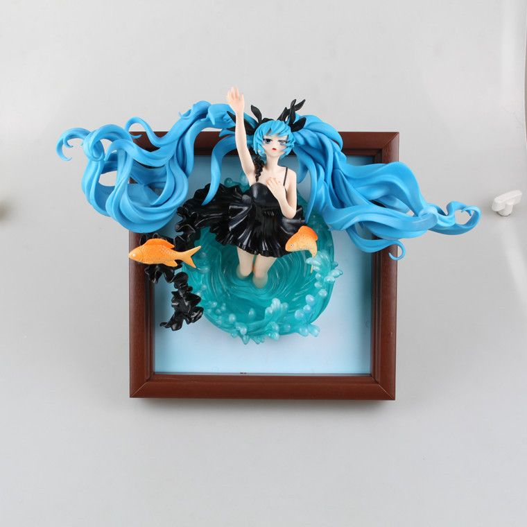 Anime Figure 23 CM Hatsune Miku Deep Sea Girl Ver. 1/8 Scale Painted Figure PVC Action Figure Collectible Model Toy