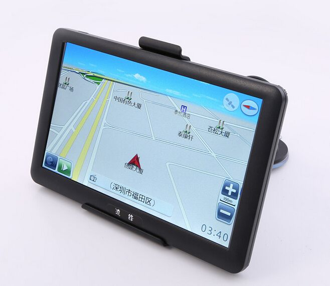 Newest universal Windows CE 6.0  7 inch Capacitive Screen Car GPS navigation  AV-in Car GPS Navigator,Russia/ Europe  map