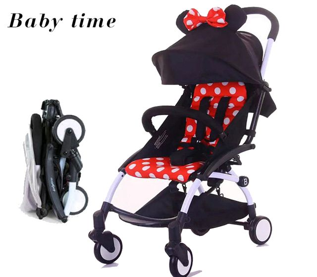 Babytime baby stroller simple folding portable Russia free shipping