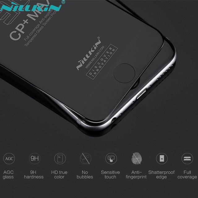 For iPhone 6 Plus 6s Plus 3D CP+ MAX NILLKIN Full Coverage Anti-Explosion Tempered Glass Screen Protector Film For iPhone6 6s