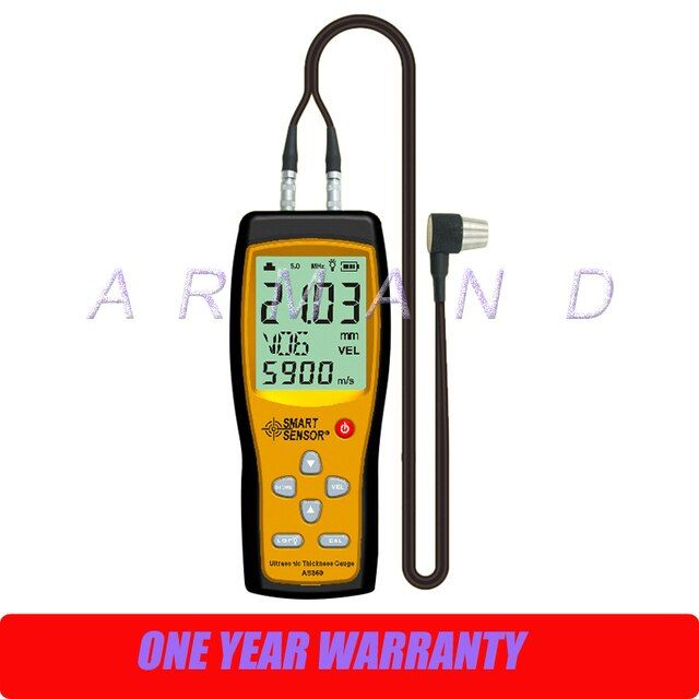 Ultrasonic Thickness Gauge AS860 Smart Sensor Portable thickness tester