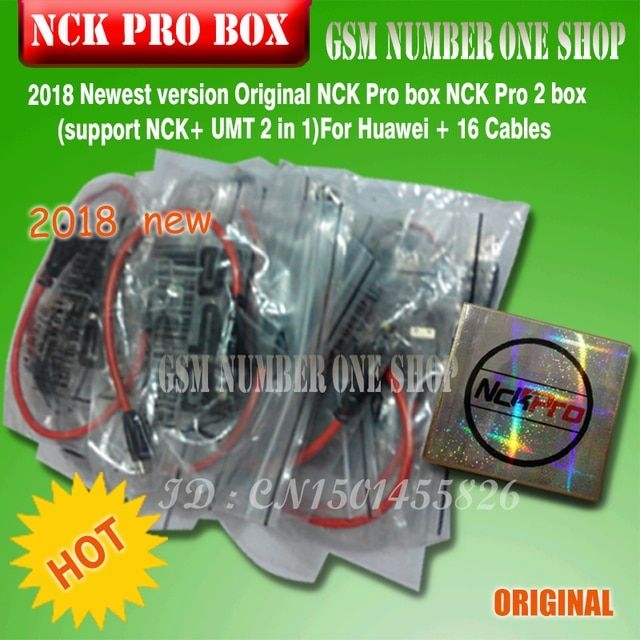 Newest version NCK Pro box / nck pro box set ( support NCK + UMT 2 in 1 ) For Huawei LG &Alcatel&samsung&Nokia&HTC&XPERIA&ZTE