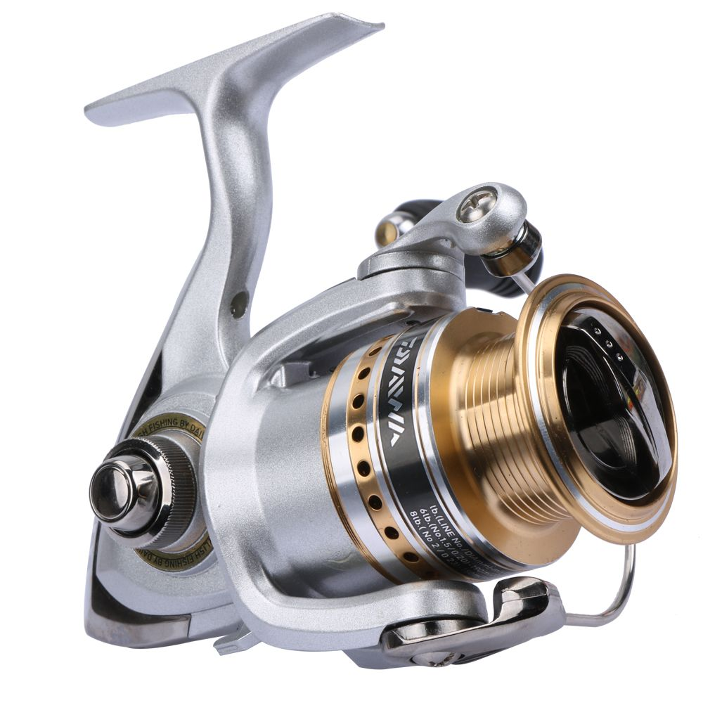 CREST 2000 Spinning Reel 5+1BB Fishing Reel Gear Ratio 4.7:1 High Quality Fishing Wheel