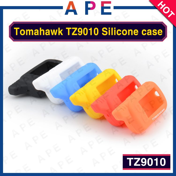 2PCS Free shipping Candy color TZ9010 Silicone Case/Cover For Tomahawk TZ9010/TZ9020/TZ9030/TZ7010 LCD  remote engine start