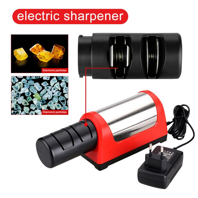 TAIDEA GRINDER Professional Electric Knife Sharpener 2 Stage Grinder affuteur Kitchen Diamond Sharpening System Afiador de faca