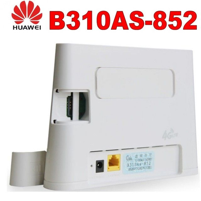 Lot of 100pcsHuawei B310As-852 LTE FDD B3/B7/B8 900/1800/2600Mhz TDDB38/39/40/41 1900/2300M/2500/2600Mhz Mobile Wireless  Router