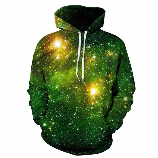 Headbook Space Galaxy 3d Sweatshirts Men/Women Hoodies With Hat Print Stars Nebula Autumn Winter Loose Thin Hooded Hoody Tops