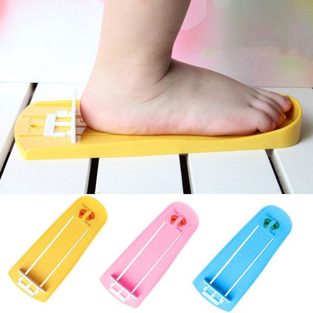 Children foot device to measure of baby feet long Measuring Ruler Tool Baby Child Shoe Toddler Infant Shoes Fittings Gauge 2017