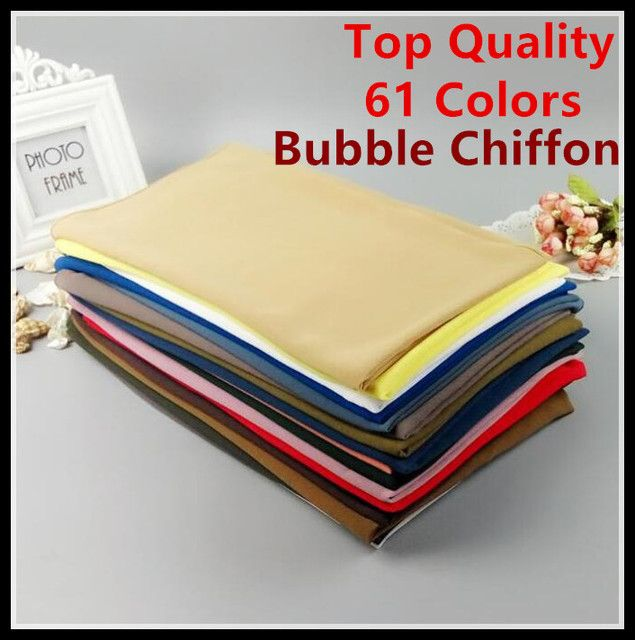 E3  61 colors  top quality bubble chiffon  20pcs 1lot muslim shawl scarf 180*90cm