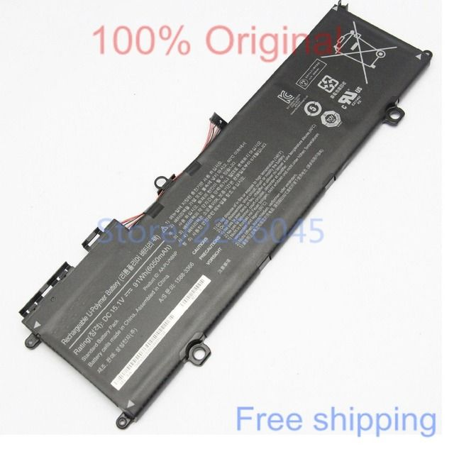 IECWANX 100% new  Laptop Battery AA-PLVN8NP (15.1V 6050mAh 91Wh) for Samsung ATIV Book 8 Touch NP880Z5E-X01
