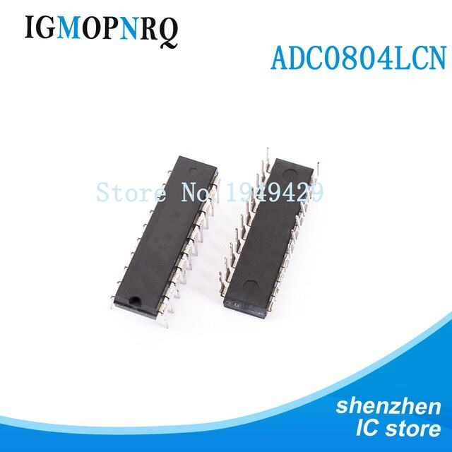 5PCS ADC0804LCN DIP20 ADC0804 to digital converter - ADC 8B DIP Compatible A/D Cnvtr New Original