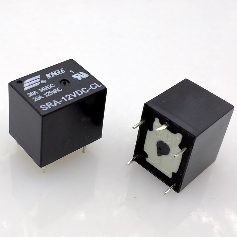 SRA-12VDC-CL 12V relay 5Pin 20A large current relay 10pcs/lot