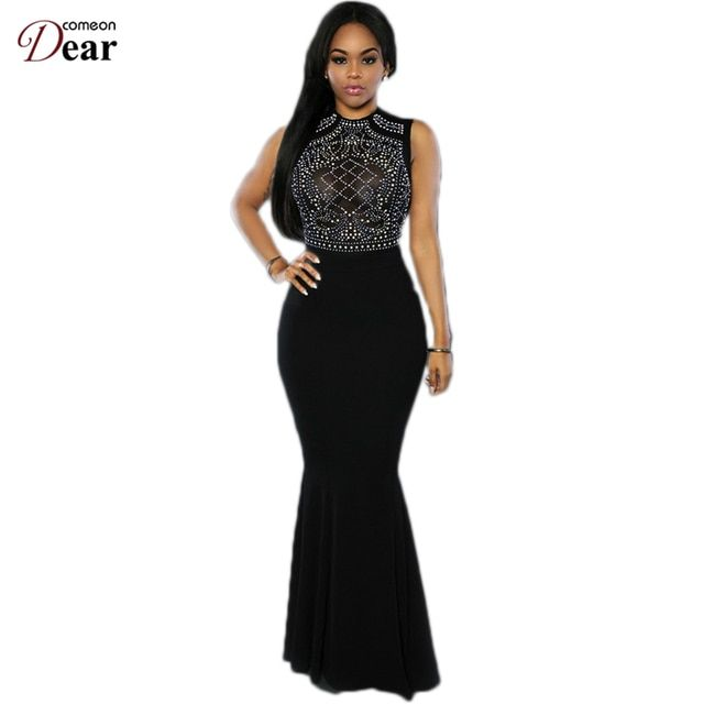 RP80282 New Arrival Sexy Bodycon Dress Black Shimmering Rhinestone Embellished Summer Dress 2016 Fashion Women Party Dresses
