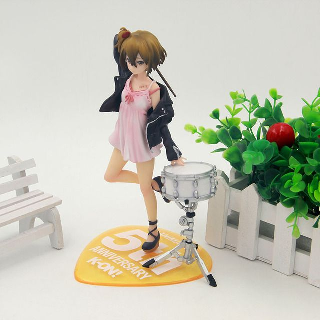 Anime K-on ! Ritsu Tainaka 5th Anniversary PVC Action Figure Collectible Model Toy 20cm KT3447