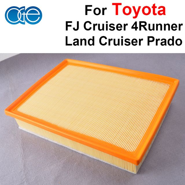 Car Engine Cabin Air Filters For Toyota FJ Cruiser LAND CRUISER PRADO 4Runner Auto Filtration 17801-38050 / 17801-38051